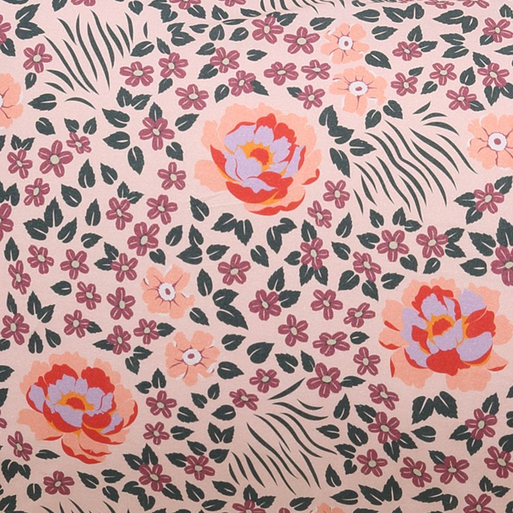 Kip & Co Forest Floor Cotton Flat Sheet- Queen - The Artisan Storeroom