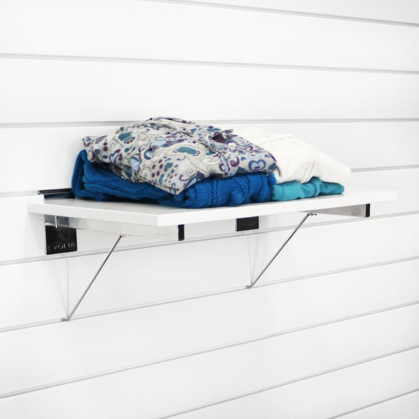 24 in. White Shelf