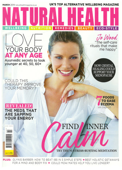 Purity Paste in 'Timeless Beauty' feature, Natural Health magazine