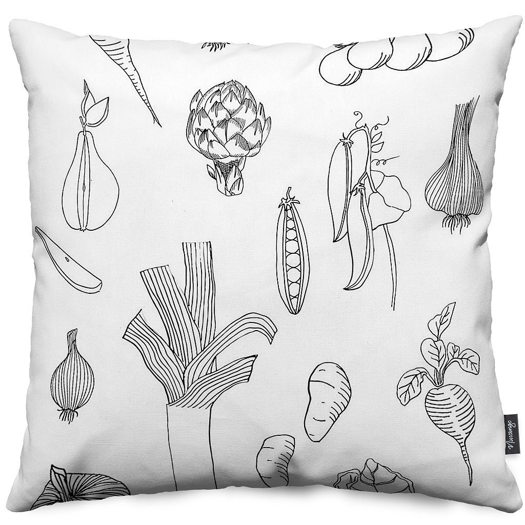 Veggie Throw Pillow