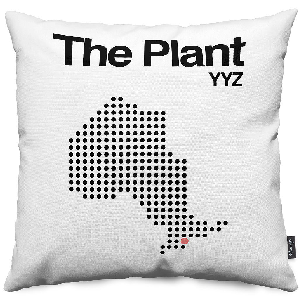 Plant Laptops Throw Pillow