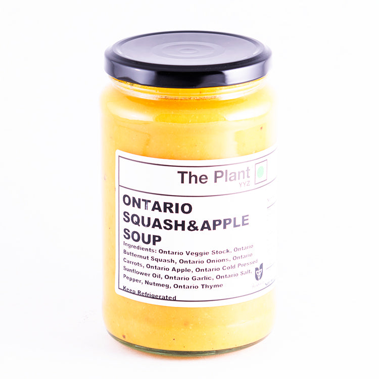 Ontario Squash and Apple Soup