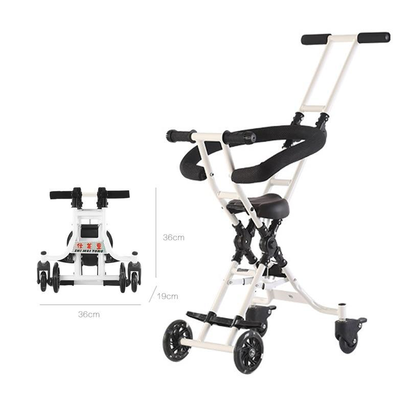 Baby Stroller Super Lightweight Kid Carriage For Travel Small Folding Size