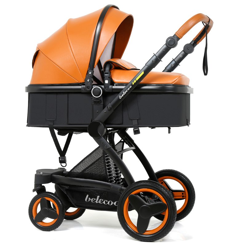 3 in 1 Carrycot Seat 2 in 1 Stroller  With Car Seat Baby Carriage Pram