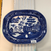 Blue Willow Ironstone Platter  Blue Willow Blue Springs Home- bluespringshome