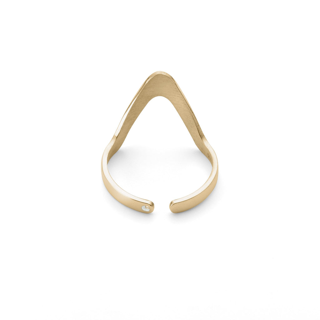 Ring - Large Triangle Stackable Ring