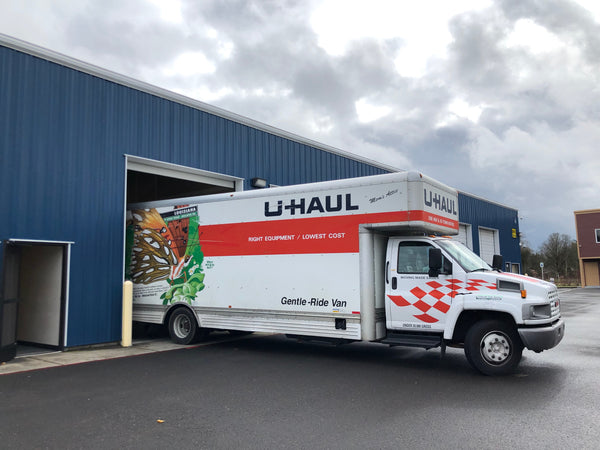 OutofDarts Nerf Mod Warehouse Move with Uhaul Truck