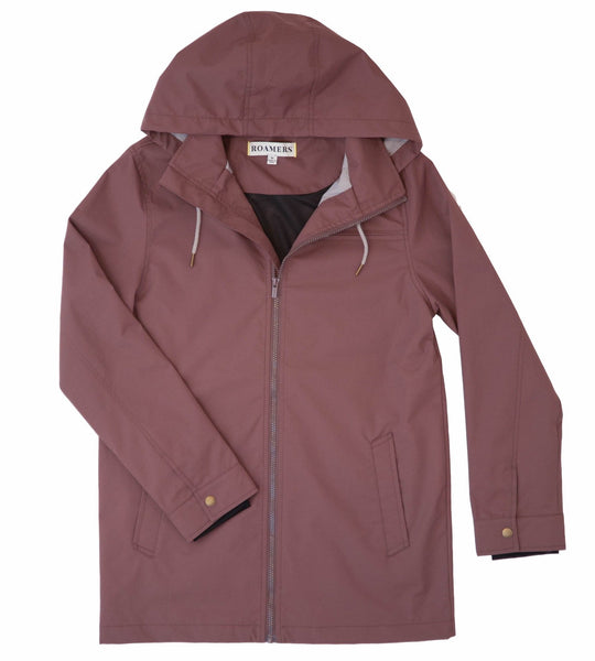 Partington Raincoat- Mauve - Large