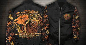 Limited Edition - God's Not Dead - Bomber Jacket
