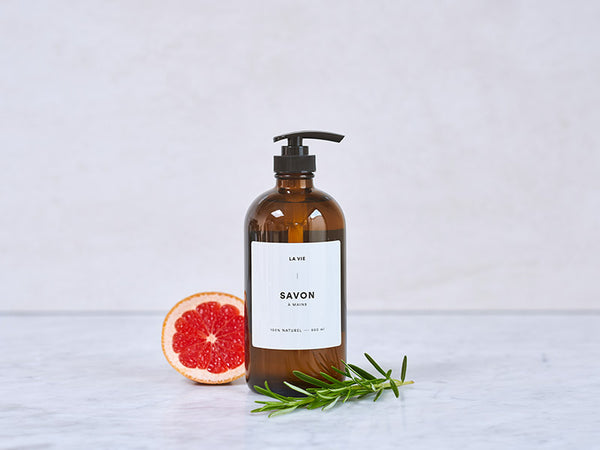 Grapefruit + Rosemary handsoap