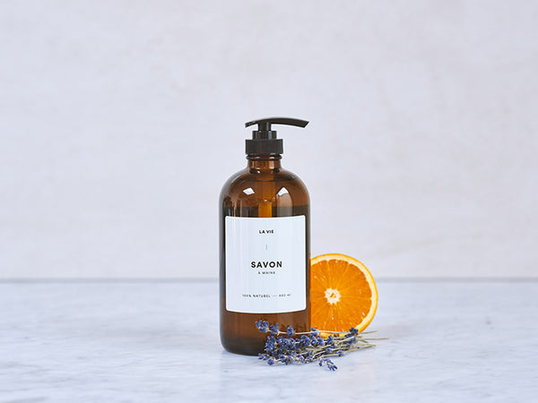 Lavender + Orange handsoap