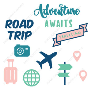 Adventure Awaits - Cut File