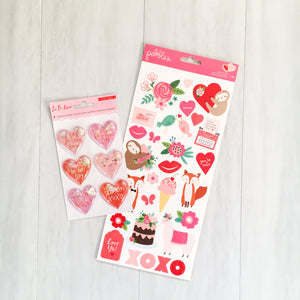 """HUGS & KISSES"" EMBELLISHMENT ADD-ON"