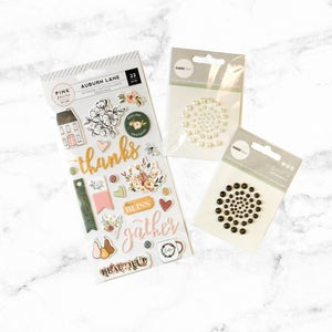 """SWEET BLOOMS"" EMBELLISHMENT ADD-ON"