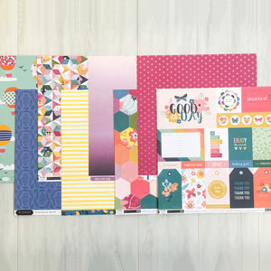 """LAUGHS & FUN"" PATTERNED PAPER ONLY ADD-ON"