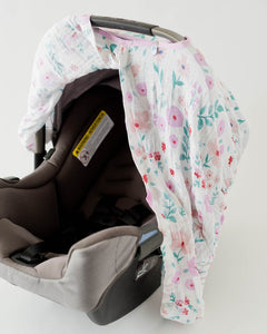Cotton Muslin Carseat Canopy