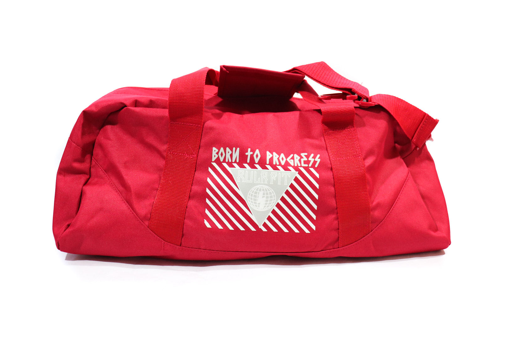 Red Gym Duffle Bag - RULA FIT