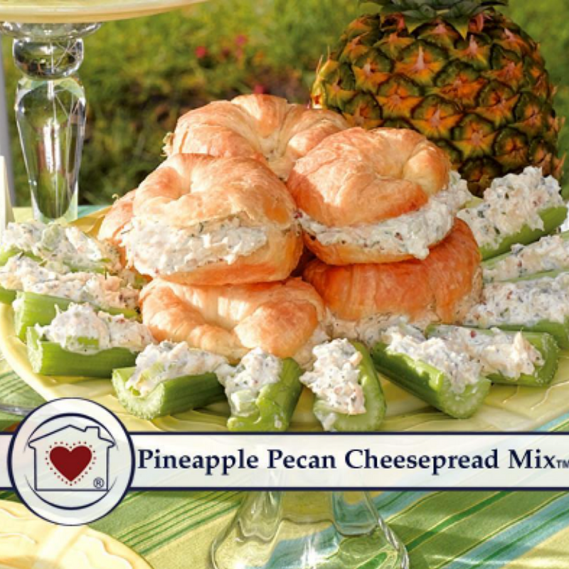 Country Home Creations - Pineapple Pecan Cheesespread Mix