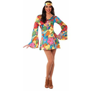 HIPPIE-GROOVY GO-GO DRESS