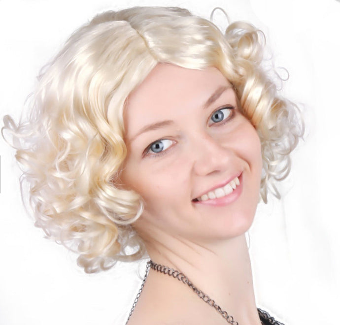 Curly Short Haired Blonde