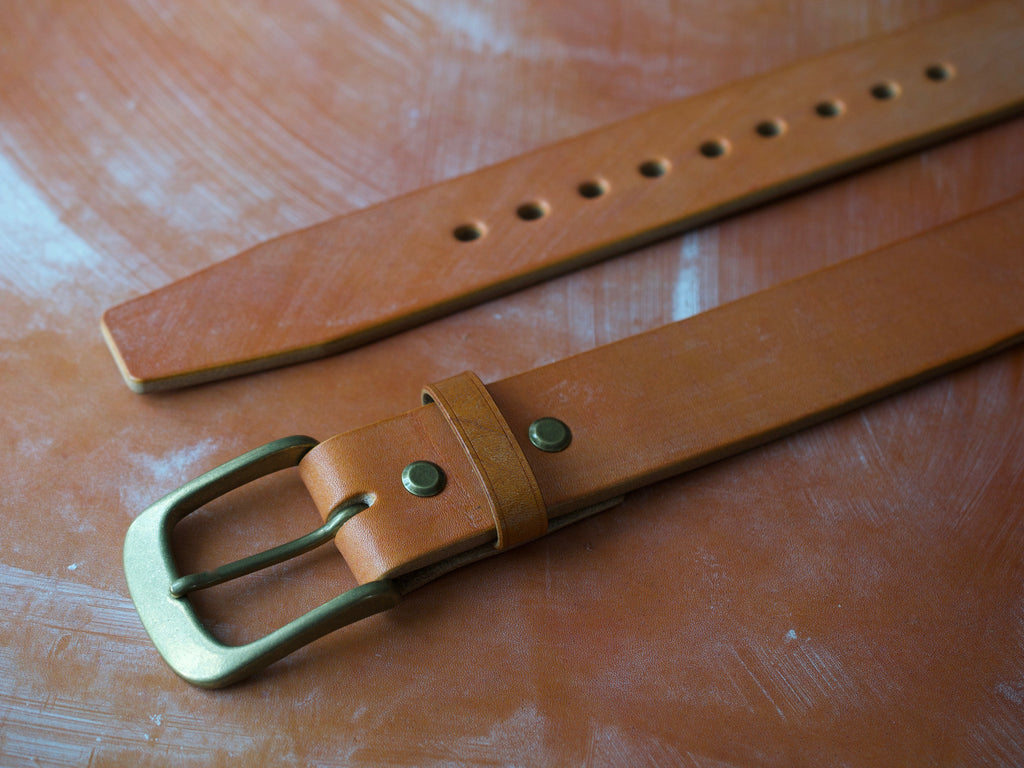 Wild Foot Belt - Classic - J&FJ Bakers Bridle Leather (London Tan)