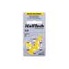 iCellTech Platinum Hearing Aid Batteries (QTY 60) Size 10