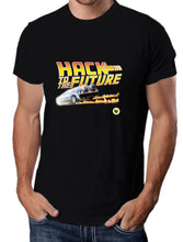 Moda Geek - Camisetas Originales Hack to the future - Growth Hacker - pasionteki.com