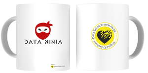 Tazas Personalizadas Data Science - Modelo Data Ninja 3 - pasionteki.com
