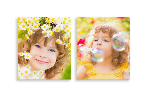2 Photo Canvases 8'' x 10''