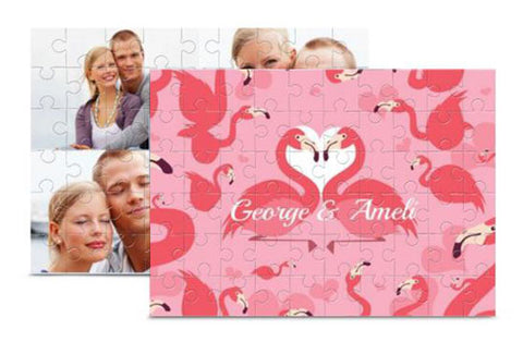2 Wooden Photo Puzzles 5'' x 7''