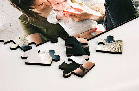 Cardboard Photo Puzzle 15' x 10''