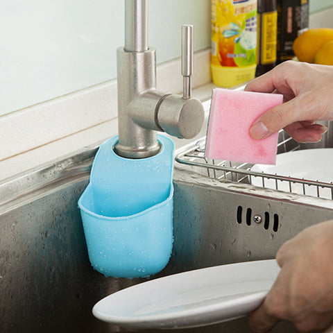 Multi Functional Faucet Pocket