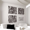 Image of Zebra Wall Stickers