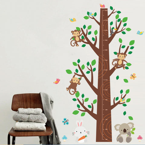 Jungle Monkey Kids Bedroom Wall Sticker