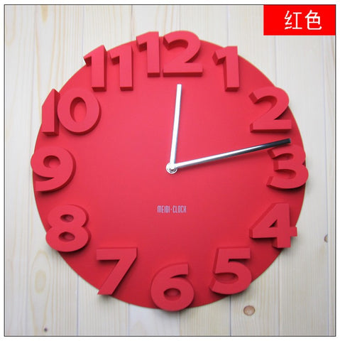 Decorative Dome Round 3D Wall Watches