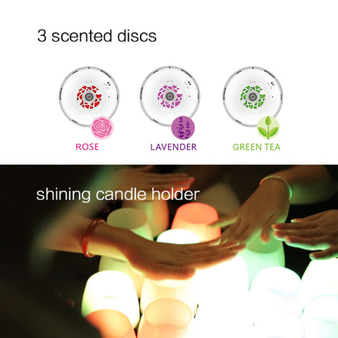 Bluetooth LED Romantic Candle Light