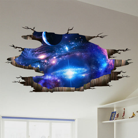 Outer Space 3D Wall Stickers