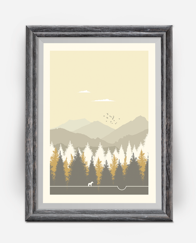 Li'l Seb National Park Minimalist TV Poster
