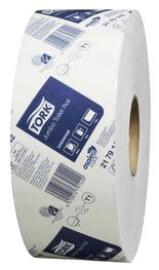 Tork 2179142 Jumbo T1 White 1-Ply Toilet Roll
