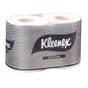 Kimberly Clark Kleenex 4738 White 2-Ply Wrapped Toilet Paper