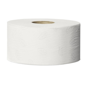 Tork 120280 Mini Jumbo T2 White Toilet Roll