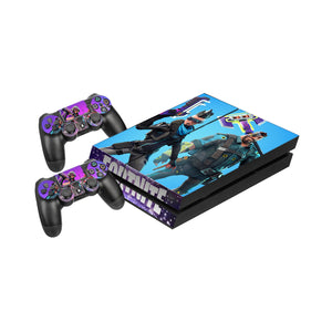 Fortnite -Protective Vinyl Skin Decal Cover for PlayStation 4 Console & 2 Controllers 006