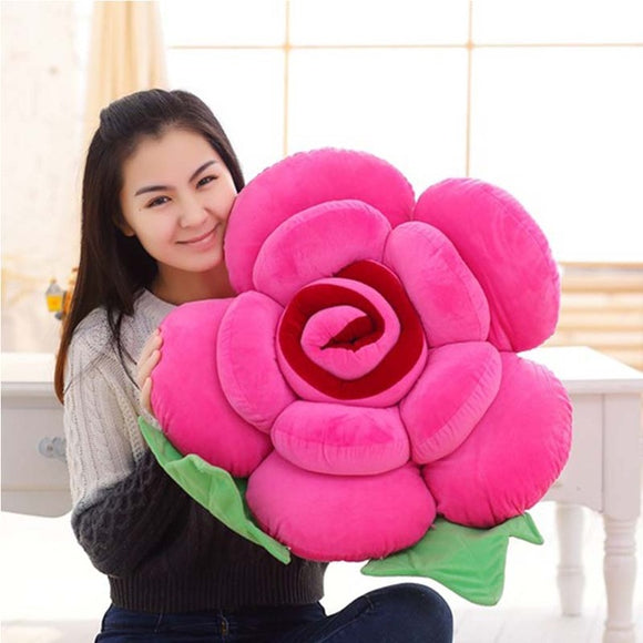 Valentine's Day Flowers Super Soft Plush Pillows - Premium Pillow Store
