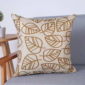 Decorative Pillow Cover Geometric Prints 18 x 18 inches - Premium Pillow Store
