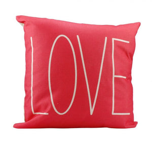 """Love"" Pillow cover 18x18 - Premium Pillow Store"