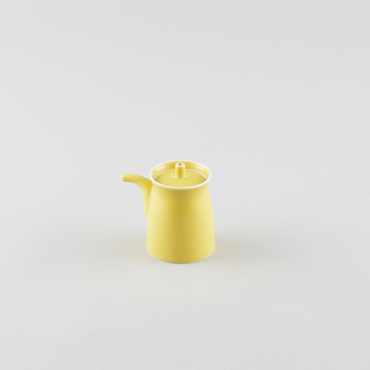 Hakusan Soy Pot Tenmoku Yellow
