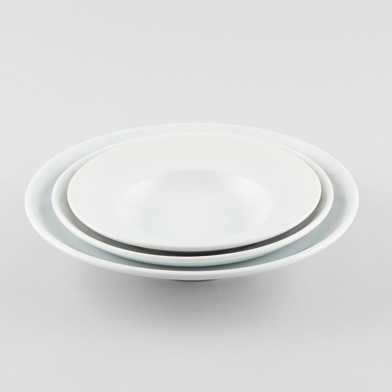 General Round Shallow Bowl with Rim 7 oz (S)