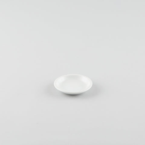 Standard Soy Sauce Dish - White