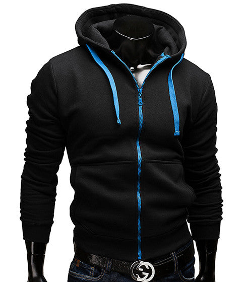 Hoodies Men Casual Sportswear Man Hoody Zipper Long-sleeved -China