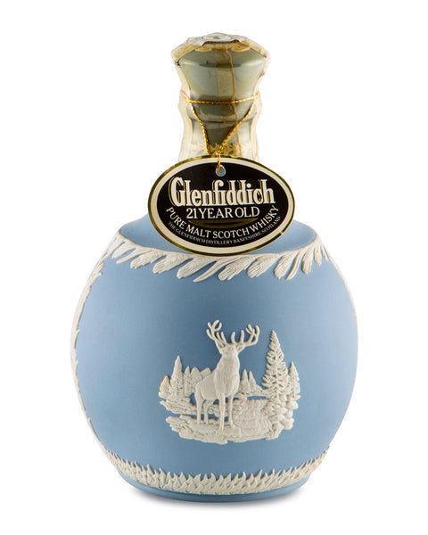 Glenfiddich 21 Years Old in Wedgewood Decanter